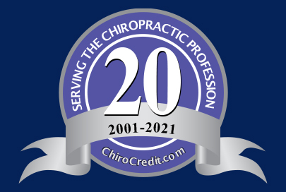 ChiroCredit.com, A Division of OnlineContinuingEd, LLC  Logo
